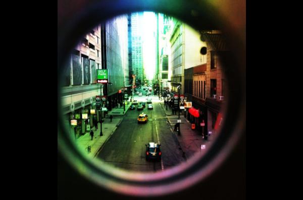 see through lens